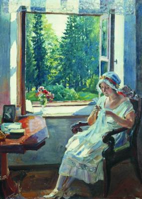 Sergey Arsenievich Vinogradov. Morning (I. K. Wojciechowska)