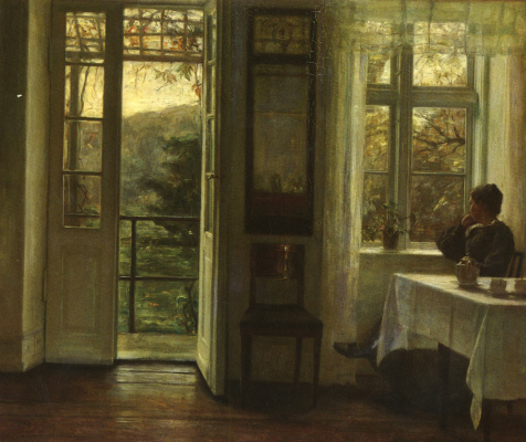 Carl Wilhelm Halse. Window