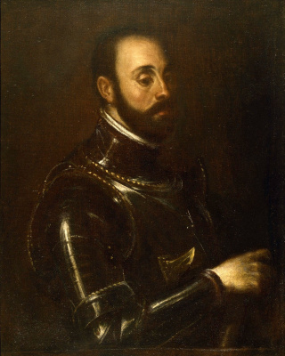 Тициан Вечеллио. Портрет маркиза Васто