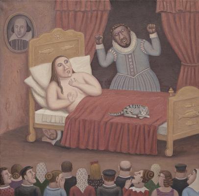 "Vladimir Semenovich Lyubarov. Othello and Desdemona. Series ""Year of Theater in the village of Peremilovo"""