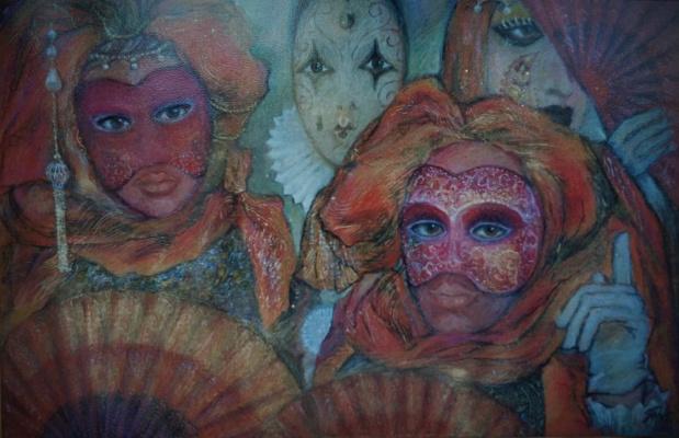 Natalia Nikolaevna Guller. People Masks