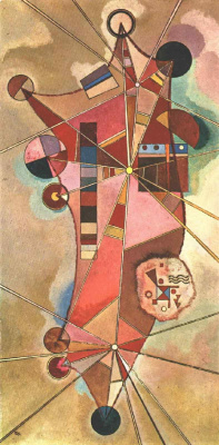 Wassily Kandinsky. Fixed point