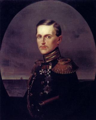 Ivan Nikolayevich Kramskoy. Portrait of Grand Duke Konstantin Nikolaevich