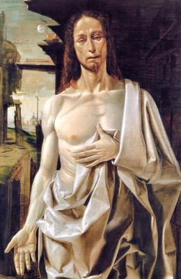 Брамантино. Воскресший Христос