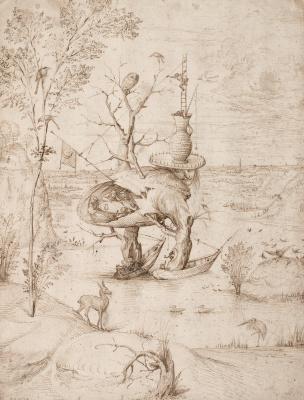 Hieronymus Bosch. Tree man