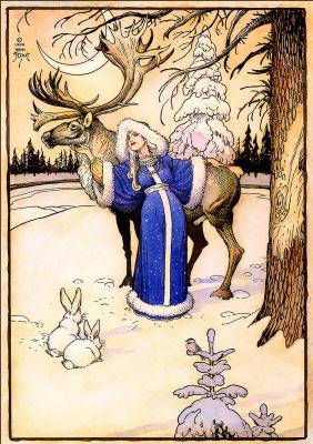 Уильям Стаут. Зима