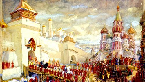 Федор Федорович Федоровский. Москва XVII  века