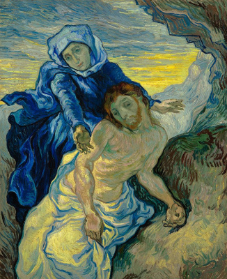 Vincent van Gogh. Pietà (The Lamentation Of Jesus Christ)