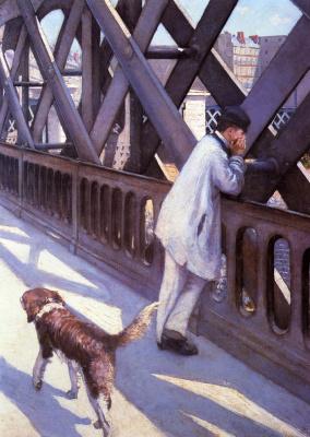Гюстав Кайботт. Мост Европы. Фрагмент