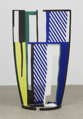 Roy Liechtenstein. Glass IV
