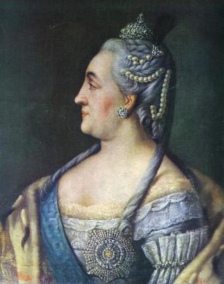 Алексей Петрович Антропов. Екатерина II