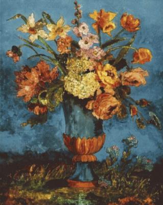 Дора Каррингтон. Цветочный натюрморт