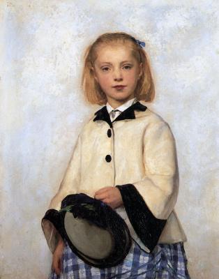 Альберт Анкер. Дочь художника