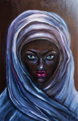 """Alla Struchayeva. Painting """"Isabella"""""""
