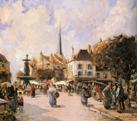 Поль Эмиль Лекомпт. Французский рынок