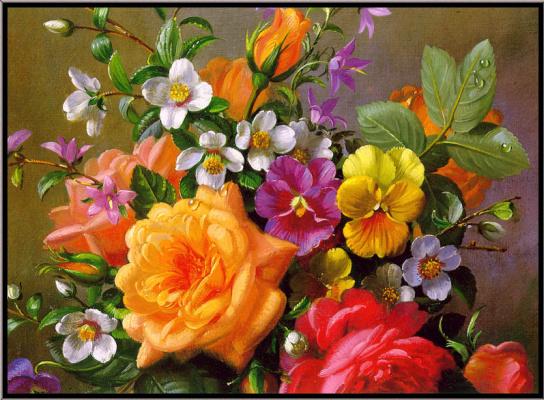Альберт Уильямс. Розы