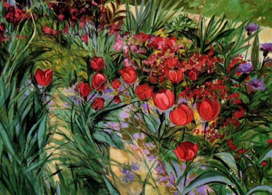 Рита Брянски. Светятся тюльпаны