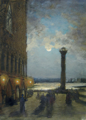 Alexey Petrovich Bogolyubov. Venice. Night