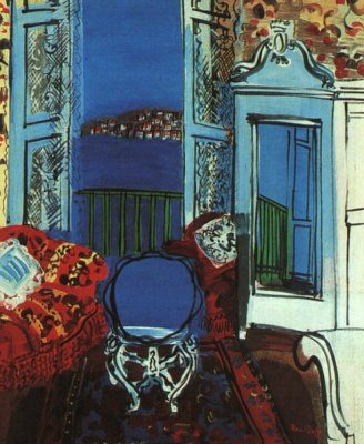 Raoul Dufy. In the room