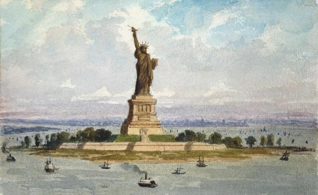 Фредерик Огюст Бартольди. Статуя Свободы в Нью-Йорке