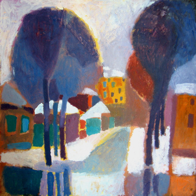 Elena Valeryevna Shipilova. Winter on the 37 line