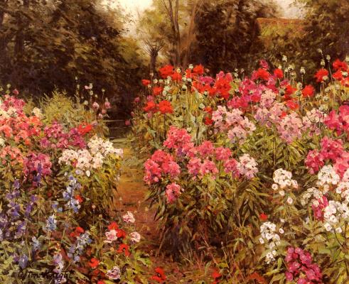 Луи Астон Найт. Цветочный сад