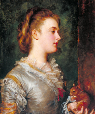 George Frederick Watts. Dorothy Tennant, later Lady Stanley