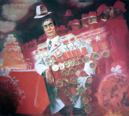 Anatoly Alekseevich Bolkhontsev. Brezhnev L.I.