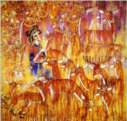 Ван Кунд. Золотая осень