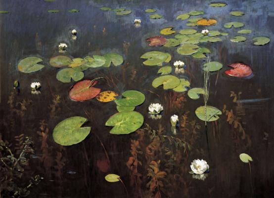 Isaac Levitan. Lilies. Nenuphar