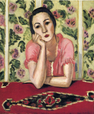 Henri Matisse. Girl in pink