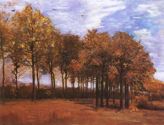 Vincent van Gogh. Autumn landscape