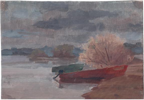 Arkady Pavlovich Laptev. Before the storm