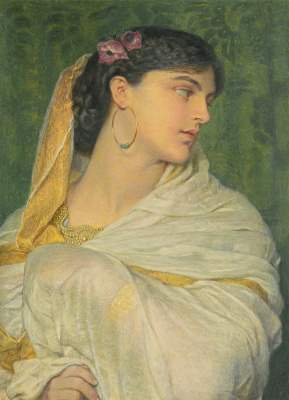 Frederick William Burton. Shirin