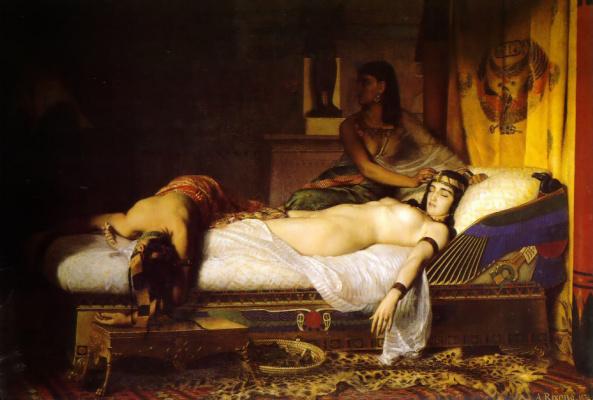 Жан Андре Риксенс. Смерть Клеопатры