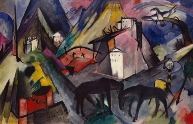 Franz Marc. The unfortunate land of Tyrol