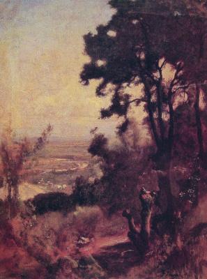 George Innes. Valley near Perugia