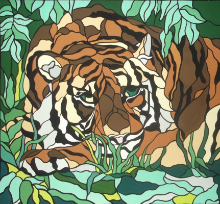 Елена Охлопкова. Тигр