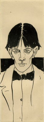 Aubrey Beardsley. Self-portrait