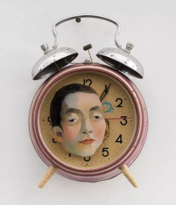 Chen Ke. Father & Clock