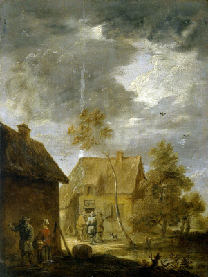 David Teniers the Younger. Peasant House