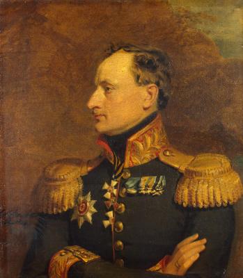 George Dow. Portrait of Konstantin Khristoforovich Benkendorf