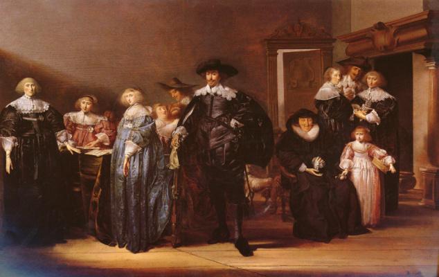 Питер Кодде. Портрет семьи