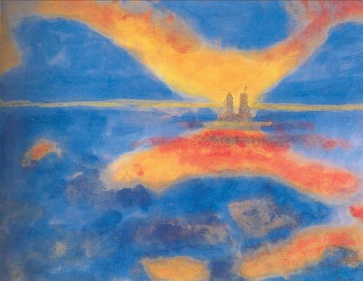 Emil Nolde. Reflection