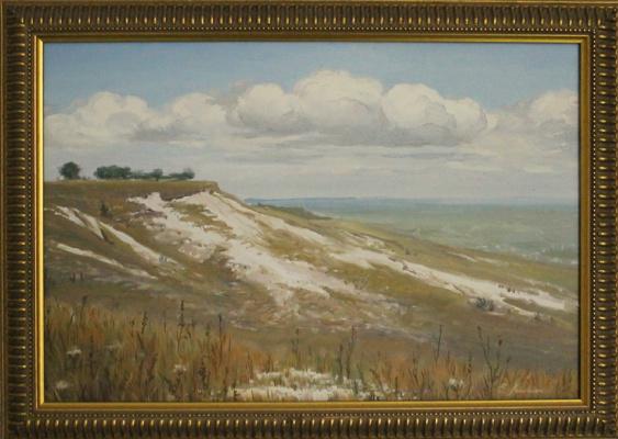 """Евгений Геннадиевич Лактионов. """"Mother of God. Chalk mountain."""""""