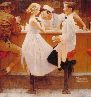 Norman Rockwell. After prom