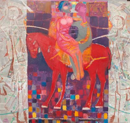Намиг Мамедов. Красный конь