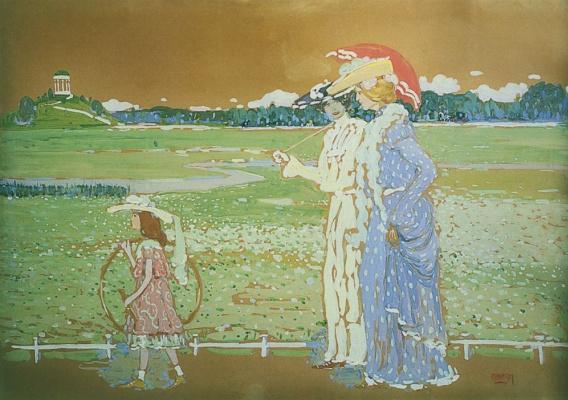Wassily Kandinsky. Walk