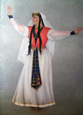 Андрей Владимирович Хан. Тансовщица