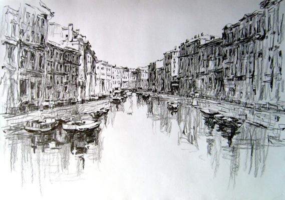 Dmitry Vladimirovich Sazhnov. Sketch pencil